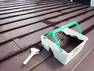 2013-9-8 屋根塗装 (1) - コピー