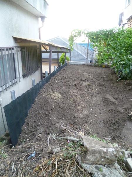 庭工事7割り