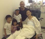 8 8:6家族で集中治療棟へ