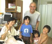 13 8:13家族で一般病棟へ