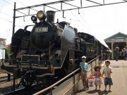 14大井川鉄道にて