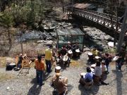 9 ママサブ 乙女渓谷でドラムワーク