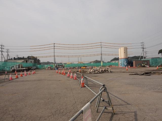 結城野田線との交差部から五霞インター方面。