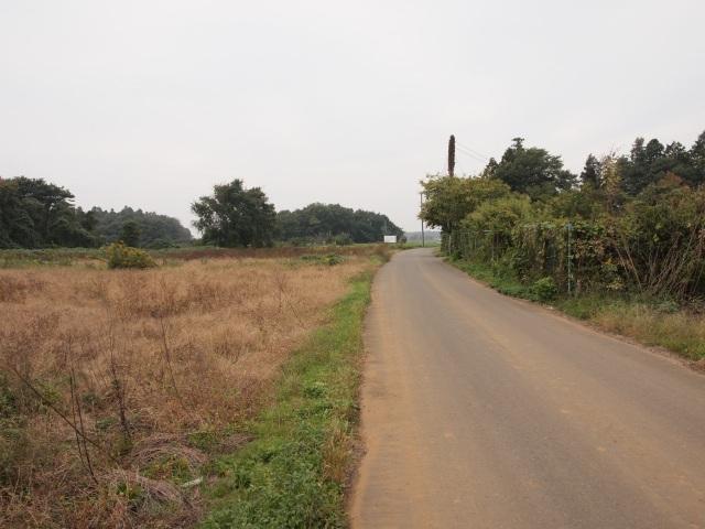 鍋沼新田の未買収地。