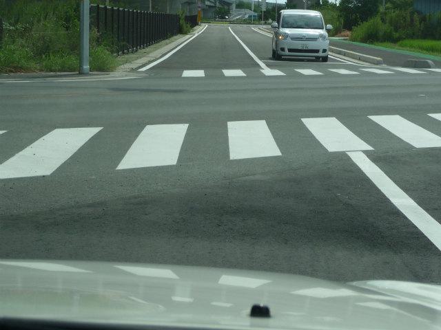 県道78号線春日部菖蒲線との交差点。あれ?122号菖蒲バイパス迄いけたかな?