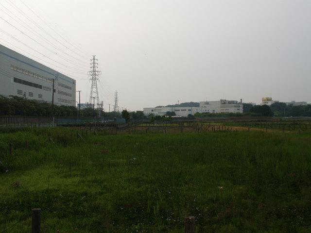 高速横浜環状南線と横浜湘南道路の接続点。栄インターとJCTになる場所。画面奥が釜利谷JCT方面。
