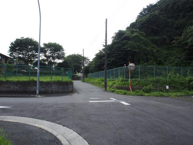 公田換気所予定地。トンネルはここ迄。