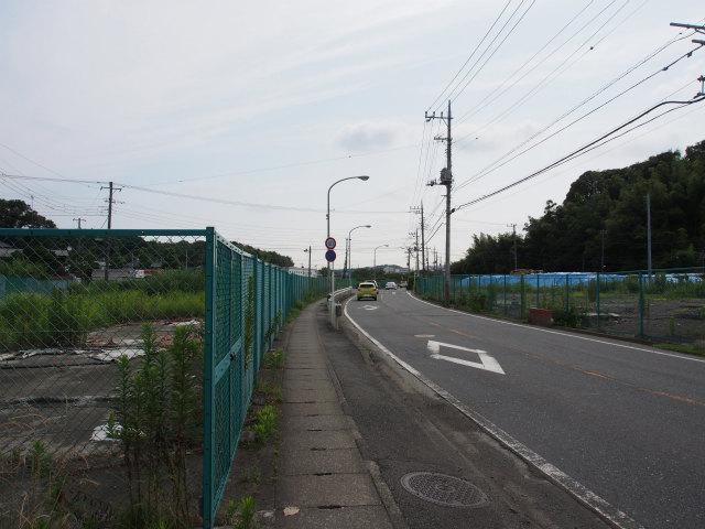 田谷藤沢線沿いから栄インター方面。