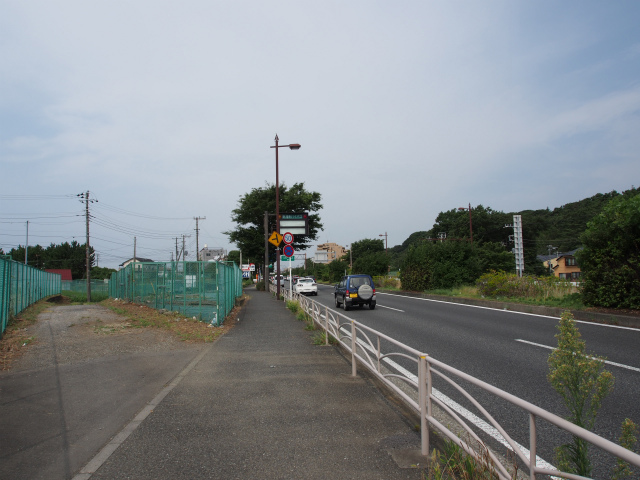新湘南バイパス側。