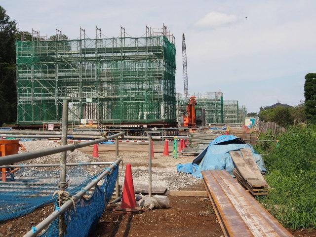 桶川高校入口交差点付近から菖蒲PA方面。