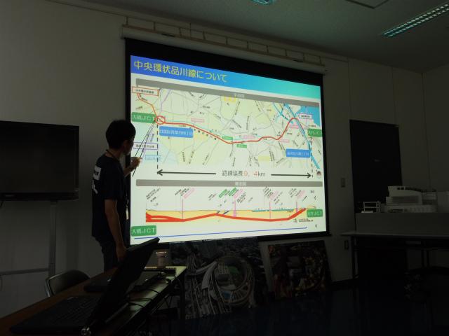 品川線の説明。