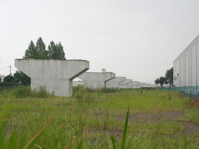 変化無い茨城県との県境部。