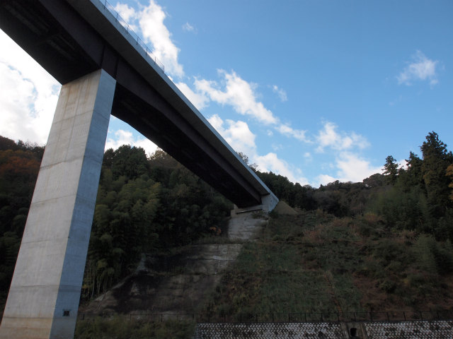 反対側の坑門。橋梁は当日橋。