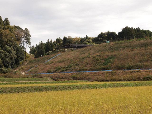 茂原長南インターのブース屋根。