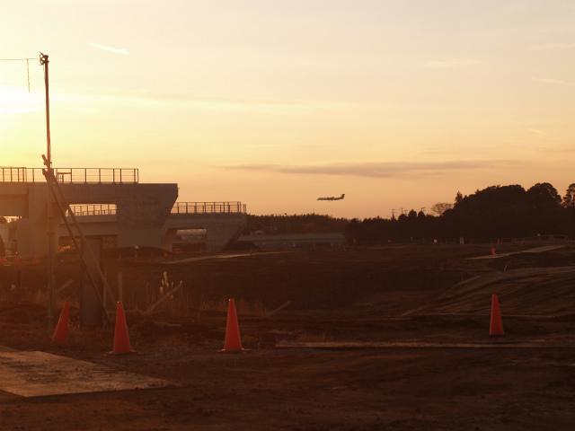 成田空港が近いですね。