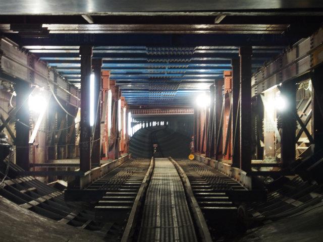 新横浜換気所用地。構造物建設のため空間が開けます。