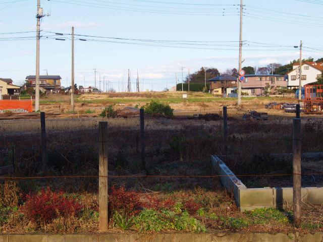 上越新幹線の下から菖蒲PA方面。
