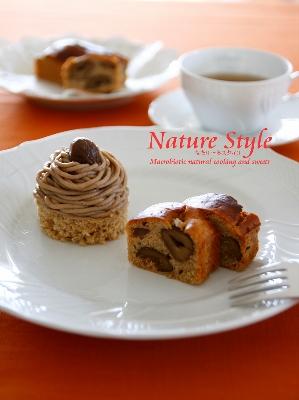 9月栗のパウンドケーキとモンブラン (299x400)