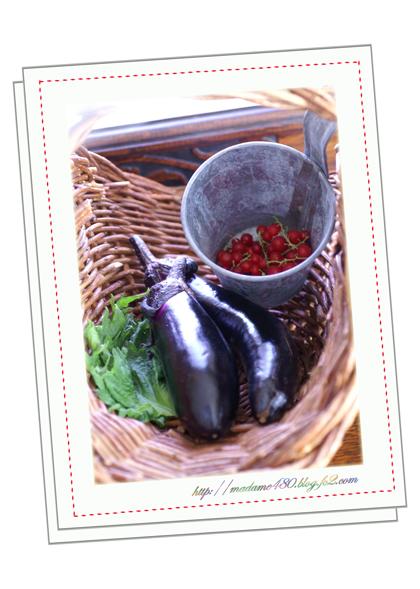 キッチンガーデン収穫2012.6w