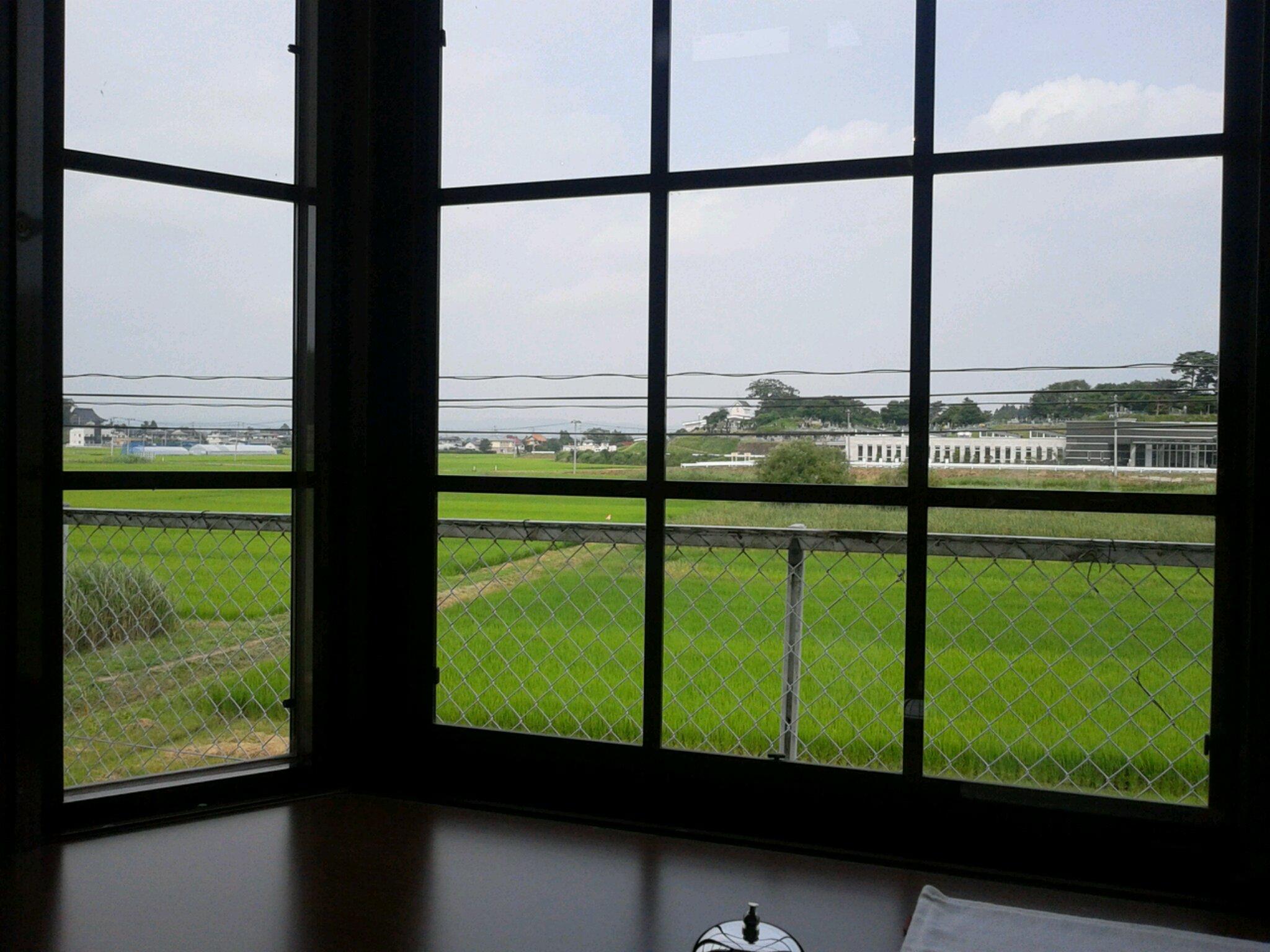 田園喫茶 窓辺2