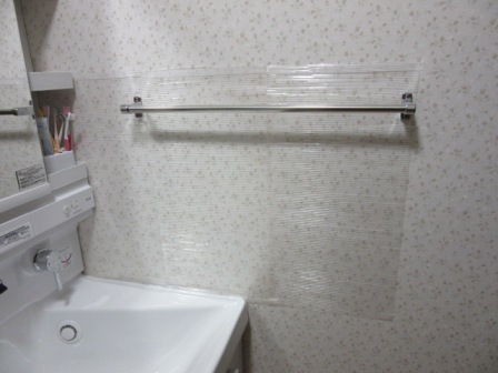 洗面台壁4