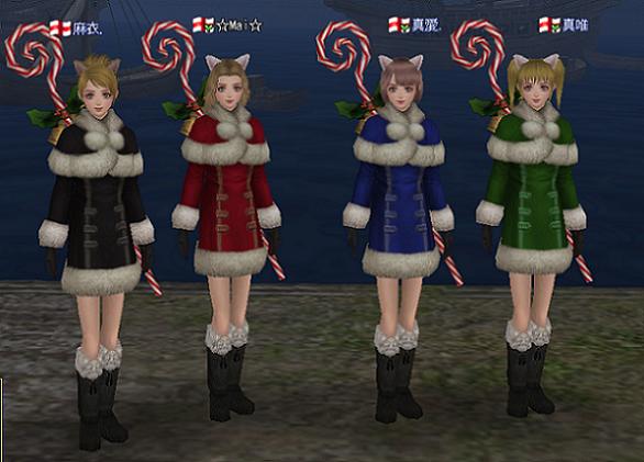 4姉妹サンタ