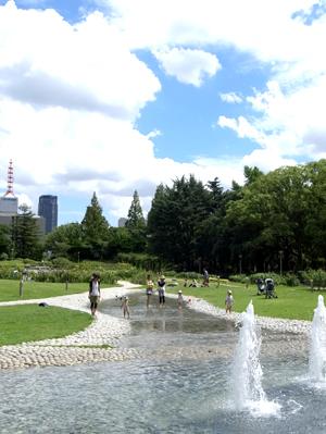 靱公園噴水01