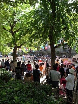 中津保育園運動会121007