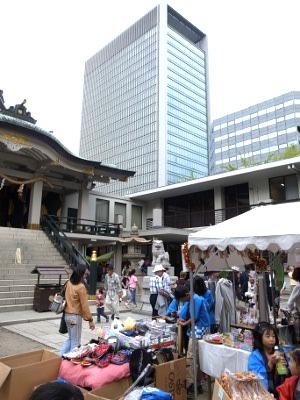 難波神社祭121013