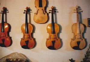 violin wall