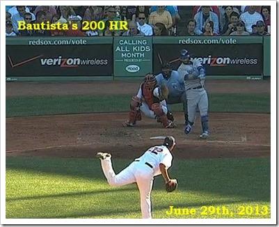 Bautista 200 HR June 30
