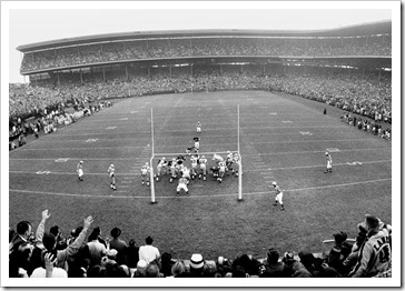 wrigley nfl old time