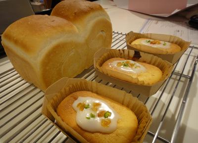 食パンとガトーマリアージュ