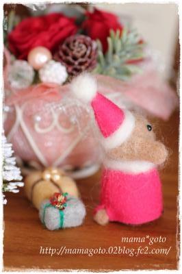 クリスマス犬・・2012