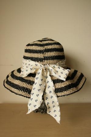 しましまつば広帽子2