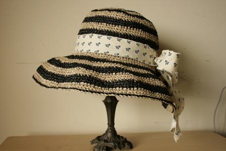 しましまつば広帽子1