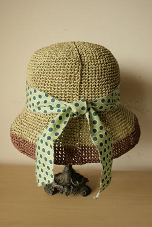緑×茶の帽子2
