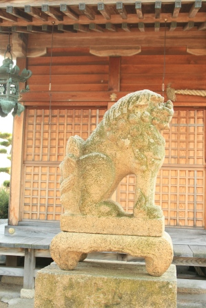住吉神社の狛犬さま3