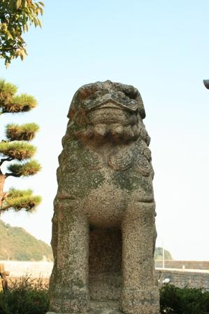 住吉神社の狛犬さま2