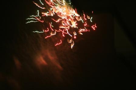 秋の花火5