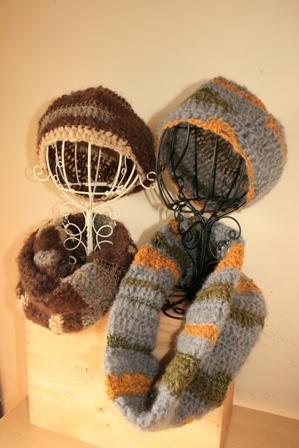 帽子とスヌード(101,102,103)