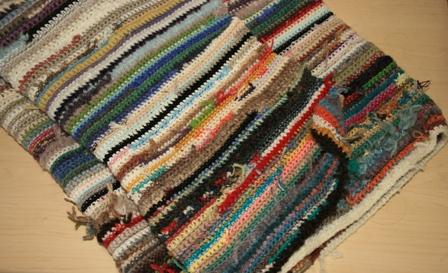 毛糸の地層。