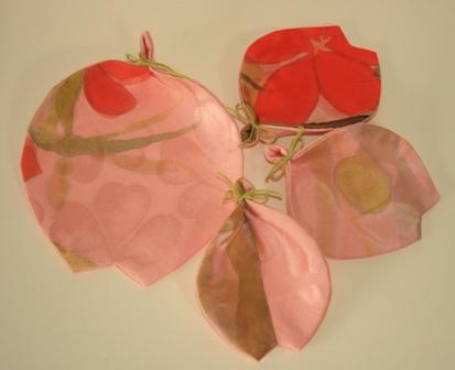 桜のミニマットとコースター