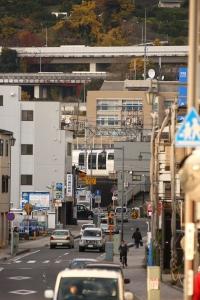 松田の街並みを往く
