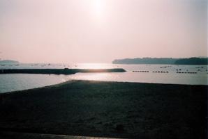 435鳥羽船志摩夕景