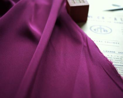 布紫シルク
