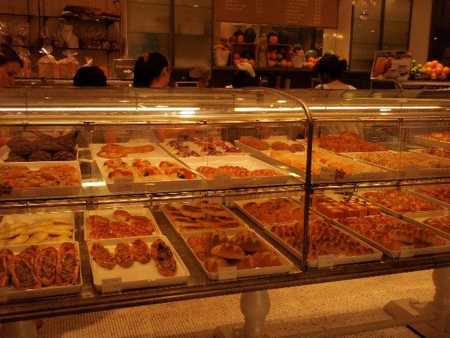 シンガポールのパン屋