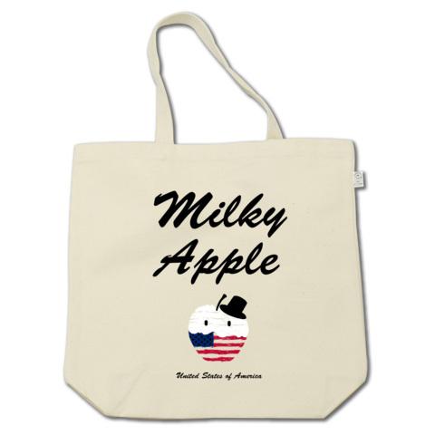 Milky Apple_トートバッグ