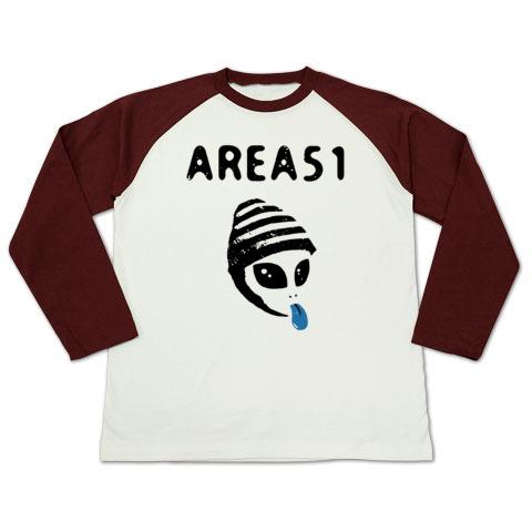 エリア51_ラグランT-shirts