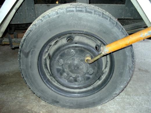 キャンター後輪ブレーキ1